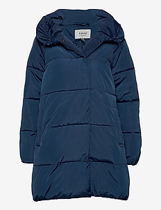 BYABELONE COAT - - dynefrakke - ensign blue