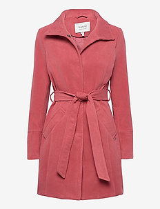 BYCIRLA COAT - - uldfrakker - canyon rose