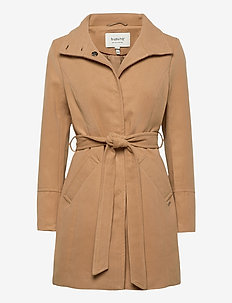 BYCIRLA COAT - OUTERWEAR - wool coats - golden sand