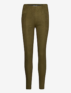 BYREGIZA LEGGINGS - - leggings - olive night