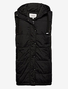 BYBOMINA WAISTCOAT - - vatteret veste - black