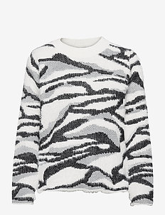 BYNOLLE JUMPER - - trøjer - off white mix