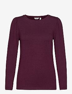 BYRONJA TSHIRT - - long-sleeved tops - winetasting