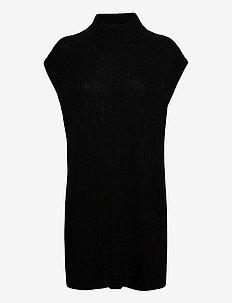 BYVANILIA PONCHO - - vester - black