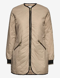 BYBERTA COAT - - padded coats - sesam