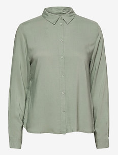 BYIDRA SHIRT - - long-sleeved shirts - iceberg green
