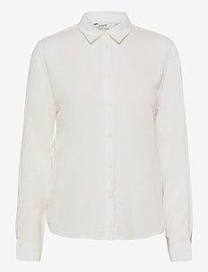 BYIDRA SHIRT - - pitkähihaiset paidat - off white