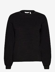 BYPUSTI PULLOVER 4 - - sweatshirts - black