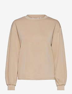 BYPUSTI PULLOVER 4 - - sweatshirts - cement