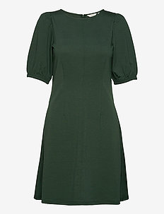 BYTIMONA DRESS - - midi kjoler - jungle green