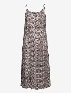 BYMMJOELLA SLIP DRESS - - midi dresses - rose tan mix