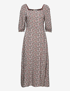 BYMMJOELLA SMOCK DRESS - - maxi dresses - rose tan mix