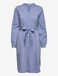 BYJESCHA SHIRT DRESS - - everyday dresses - brunnera blue mix