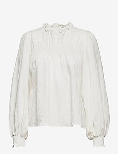 BYIMMY BLOUSE - - long sleeved blouses - off white