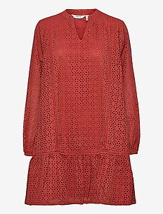 BYIMMILA DRESS - - everyday dresses - etruscan red