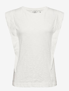 BYTELLA SLEEVELESS - - linnen - off white