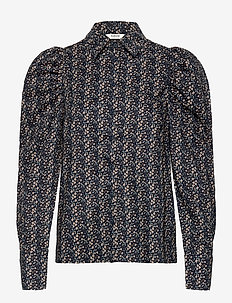 BXJOELLA SHIRT - long sleeved blouses - copenhagen nigth mix