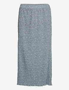 BXILNA SKIRT - maxi skirts - country blue mix