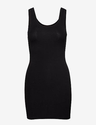Pamila long top - Jersey - stramme kjoler - black