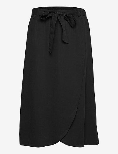 BYINGA SKIRT - - midi skirts - black