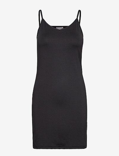 BYIANE UNDERDRESS - JERSEY - korte kjoler - black