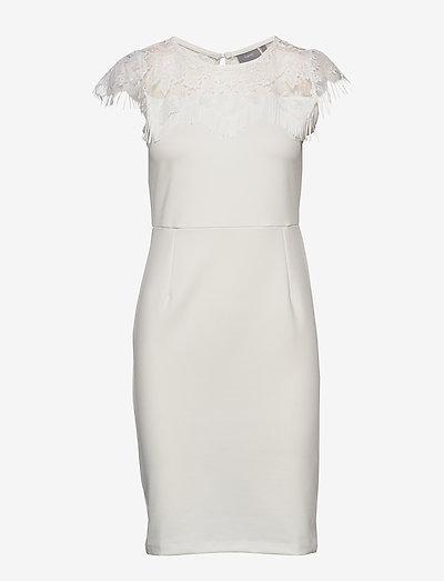 BXTRINNI DRESS - - stramme kjoler - off white