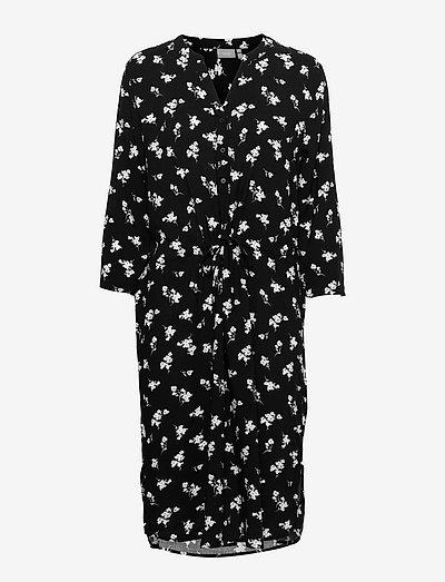 BYISOLE SHIRT DRESS - - sommerkjoler - black combi 5