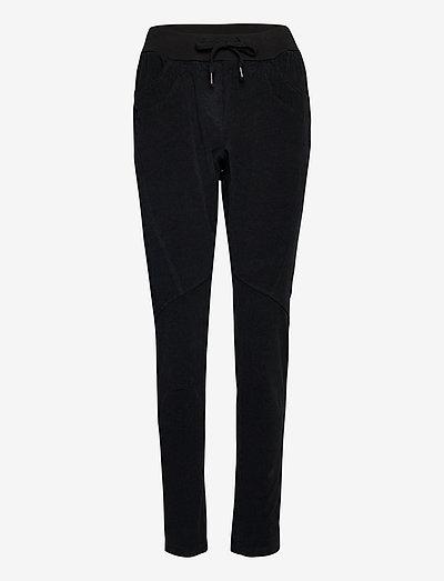 BXEA PANTS NO WOVEN - casual bukser - black