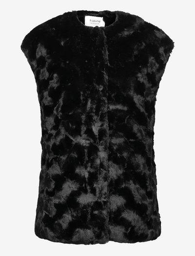 BYCAVAS WAISTCOAT - - vatteret veste - black