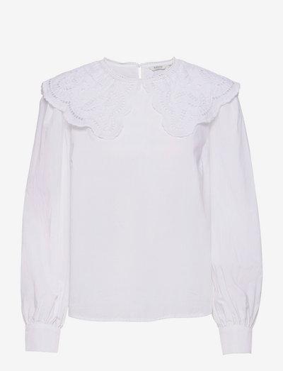 BYJUSSI SHIRT - - langærmede bluser - bright white
