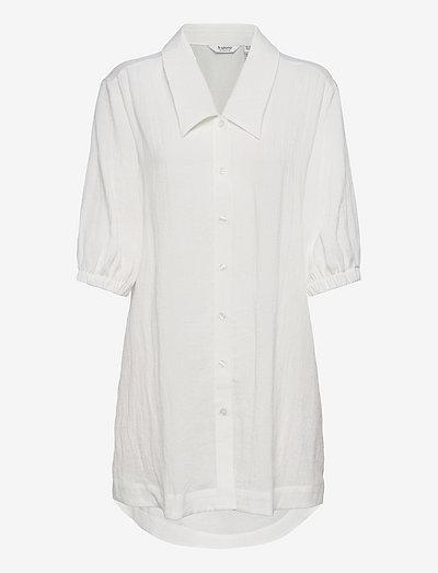 BYDELAN SHIRT TUNIC - - tunikaer - off white
