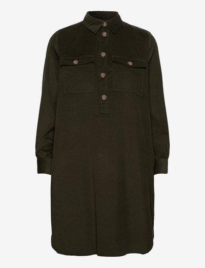 BYDINIA SHIRT DRESS - - skjortekjoler - rosin