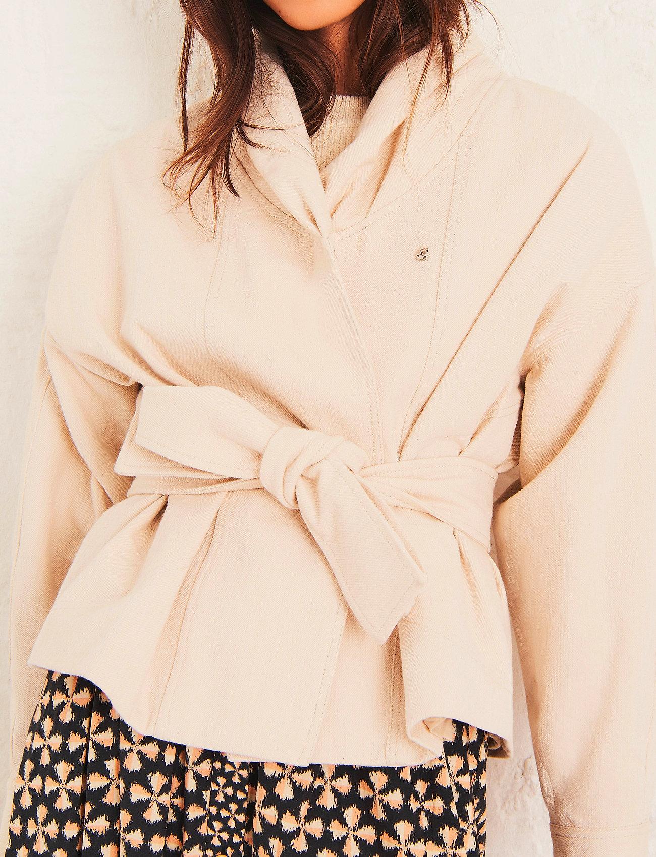 ba&sh - LOST JACKET - wool jackets - off white - 0