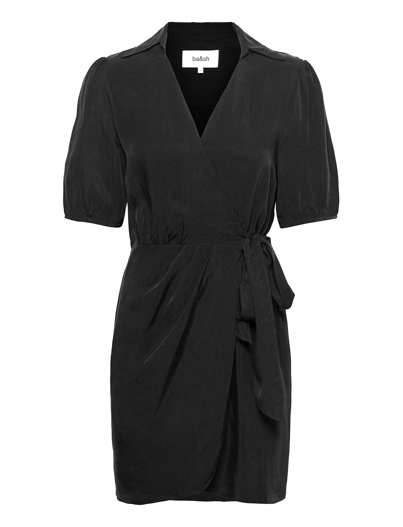 Ada Dress Dresses Cocktail Dresses Sort Ba&sh