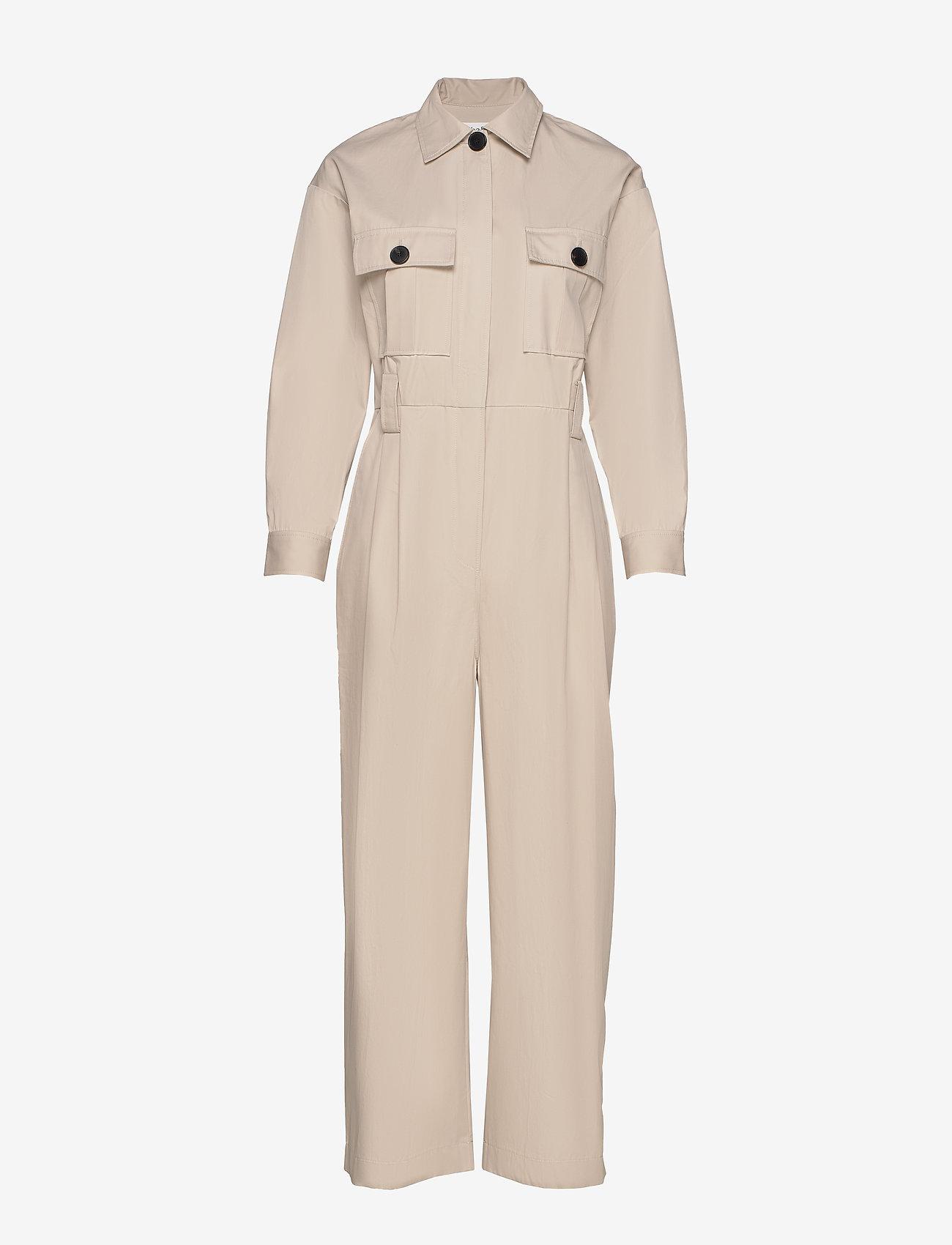 ba&sh - COMBINAISON CLOTHILDE - buksedragter - beige - 0