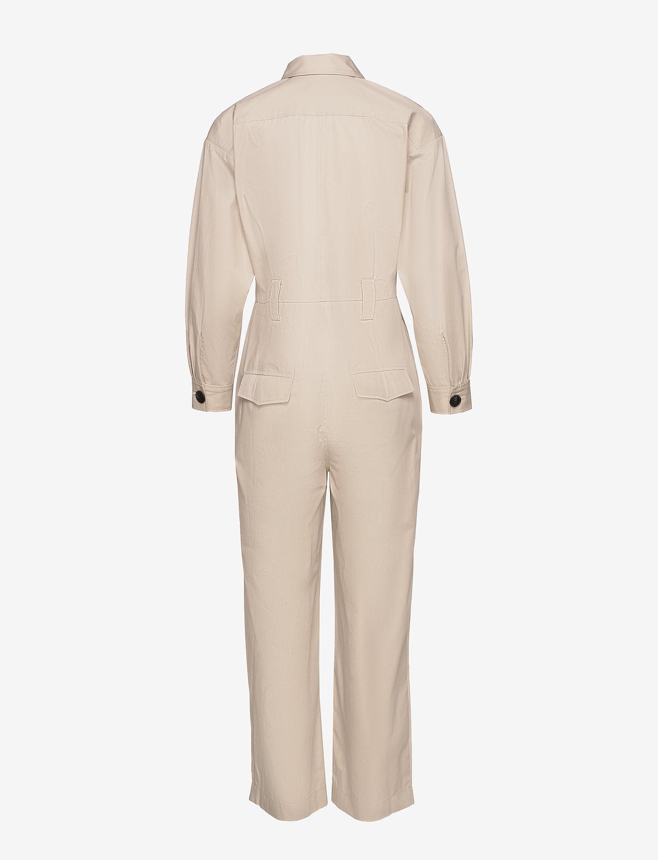 ba&sh - COMBINAISON CLOTHILDE - buksedragter - beige - 1