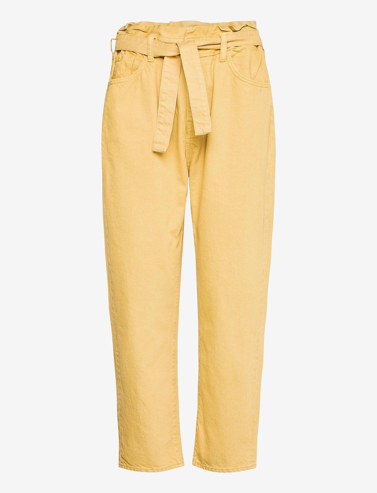ba&sh - JALIA TROUSERS - mom-jeans - yellow - 1
