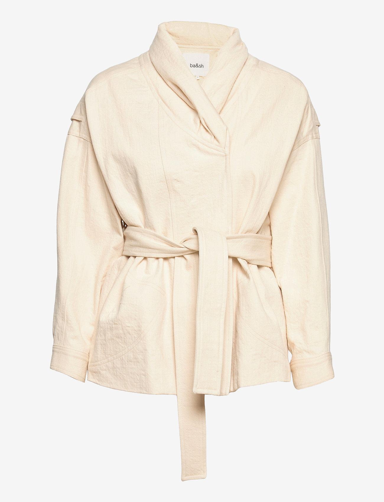 ba&sh - LOST JACKET - wool jackets - off white - 1