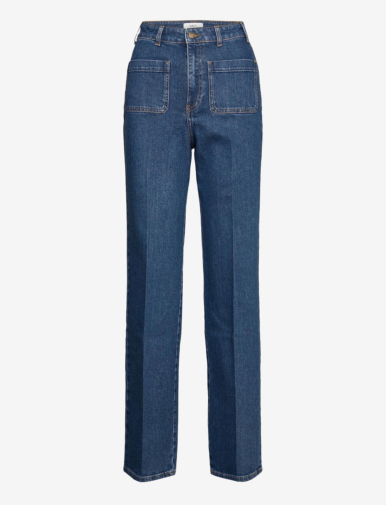 ba&sh - JEANS DJANGO - straight jeans - bluejeans - 0