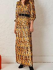 ba&sh - GULLIAN DRESS - evening dresses - ochre - 0
