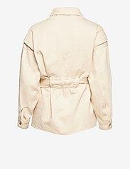 ba&sh - LOST JACKET - wool jackets - off white - 2