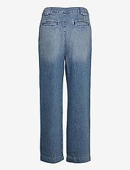 ba&sh - SAXO PANT - brede jeans - light use dblue - 2
