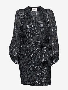 ROBE GINGER - wrap dresses - bleunuit