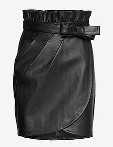 JUPE LUNA - short skirts - noir