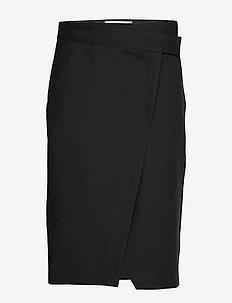 JUPE MILOU - midi skirts - noir
