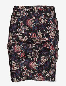 JUPE ROSTER - spódnice mini - noir
