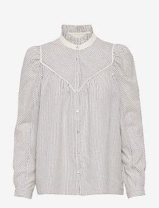 CHEMISE SPRING - long-sleeved shirts - bleuciel