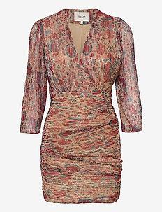AMELIA DRESS - fodralklänningar - red