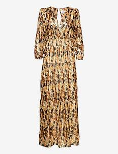 GULLIAN DRESS - avondjurken - ochre