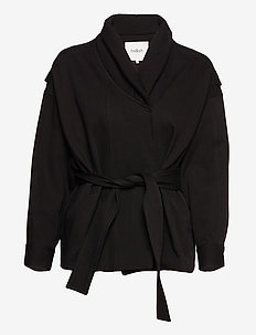 LOST JACKET - wool jackets - black